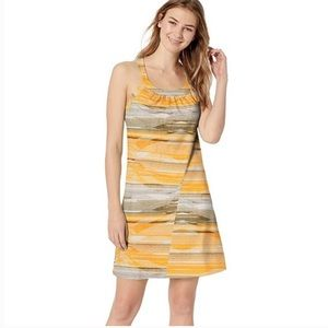 Prana Cantine Dress in Peach Bonita. Size XL